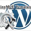 投稿テンプレートを作成し記事に挿入出来るWordPressプラグイン「TinyMCE Templates」