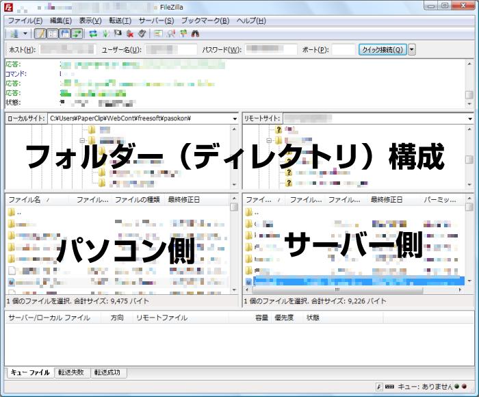FTPクライアント構成